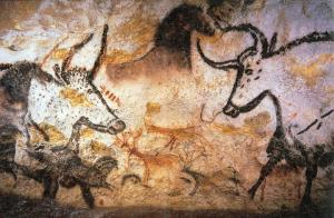 Example of a Lascaux cave painting (Photo courtesy of Flickr.com, Creative Commons).
